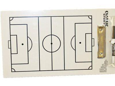 NEW Sportcraft Soccer Coaching Coach Dry Erase Board w/Marker