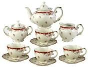 Porcelain China Tea Set