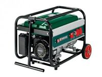 Brand New,PARKSIDE Portable Petrol Powered Generator