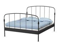 Black Ikea Lillesand Bed Frame - £20 NO OFFERS