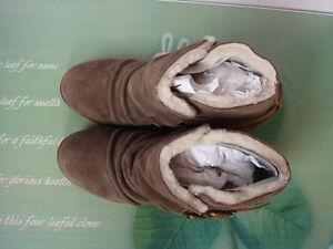 80%20 Fur Lined Bootie with hidden wedge Regina Regina Area image 2