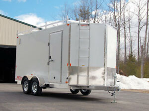 16' to 20' enclosed utility trailer
