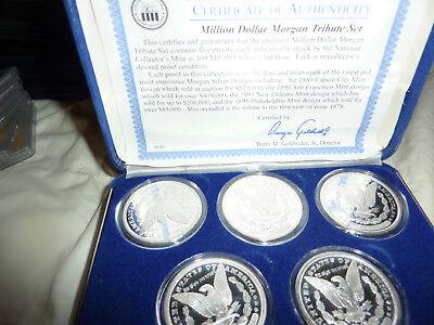 Million Dollar Morgan coin set