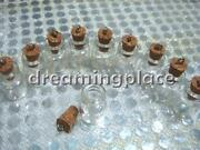 Glass Vials Cork