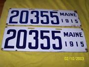 Porcelain License Plate