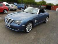CHRYSLER CROSSFIRE CONVERTIBLE 3.2 PETROL MANUAL 57000 MILES LEATHER