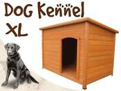 X-large Timber Wooden Dog Kennel