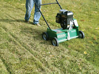 Power rake and aeration starting st $59.99 call today!