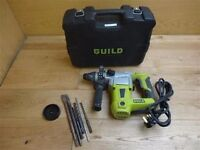 Boxed Guild PDH26G SDS Plus Hammer Drill Corded Mains Tool 1000W No Manual