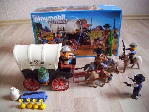 Playmobil planwagen ebay for Kutsche playmobil