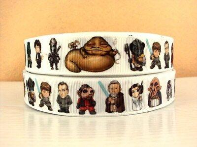 "Star Wars Ribbon 7/8"" Wide NEW UK SELLER"