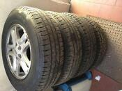 Land Rover Steel Wheels and Tyres