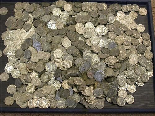 40 BUFFALO NICKLES W/ DATES, FROM  1930