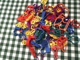 Bag of 60-70 cookie cutters inc Festive Christmas shapes GREAT FOR KIDS COOKING PARTIES