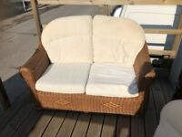 free delivery in somerset two 2 seater cane conservatory sets