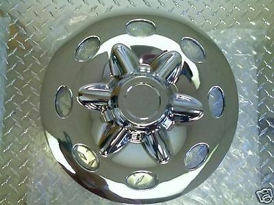 "14"" Chrome Trailer Wheel Hub Cap Rim Cover SHARP!! QT544CLS"