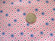 Vintage Cotton Print Fabric