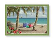 Tropical Christmas Cards