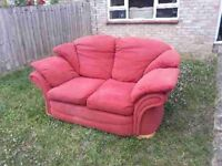FREE sofa & footstool. Collection from Witham.