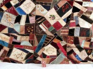 Crazy Quilt | eBay : antique crazy quilt - Adamdwight.com