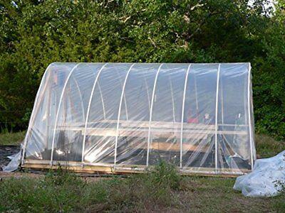 16'x16' Agfabric® 6Mil Plastic Covering Clear Polyethylene Greenhouse Film 6 Mil Polyethylene Film