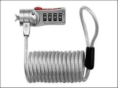 Masterlock Portable Resettable Combination Computer Laptop Cable Lock