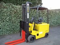 Hyster 3 ton electric counterbalance forklift truc
