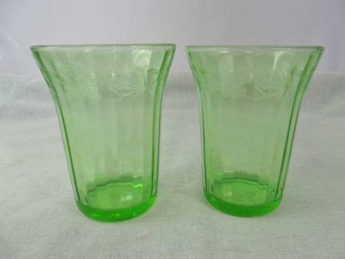 Depression Glass Tumblers Ebay