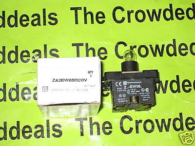 Telemecanique Za2bw060120v Light Module Assembly New