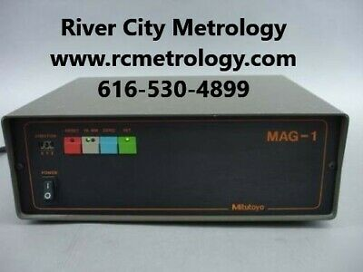 Mitutoyo Manual Cmm Mag-1 Mag-3 Power Supply Repair For Mag Box All Versions
