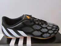 ADIDAS PREDITO INSTINCT FG FIRM GROUND FOOTBALL BOOTS - BLACK UK SIZE 9.5