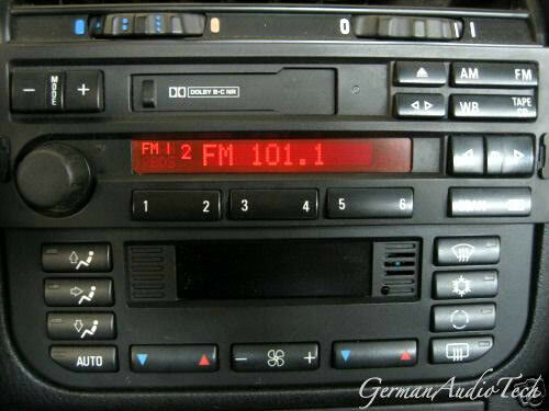 Bmw Am Fm Radio C33 Code 1996 1997 1998 1999 E36 318 328