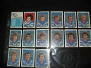 Rugby League Cards Full Set