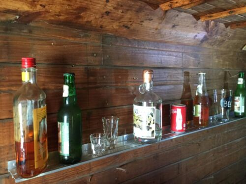 BEER & BAR WALL SHELF - 2 Pack - Craft Brewery,  Beer Can Collections, Shelves