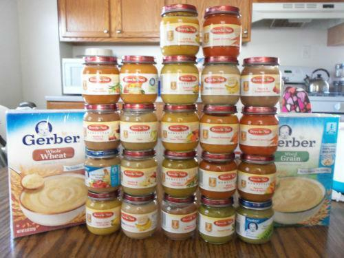 Gerber Baby Food Jars
