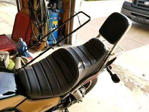 HONDA Magna VF1100 VF1100C V65 1983-86 Pleated Custom Made Motorcycle Seat Cover