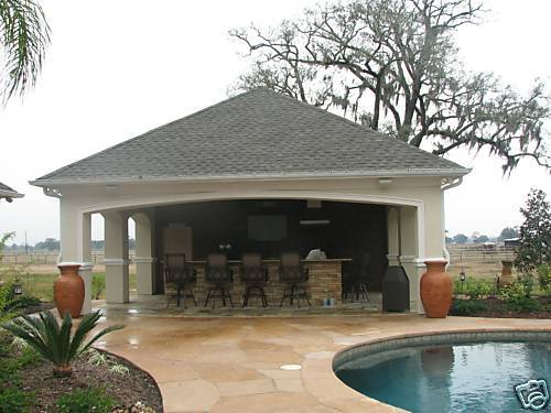 DETAIL POOL HOUSE PLANS COMPLETE