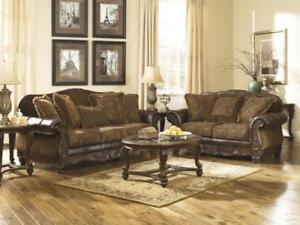 Ashley Sofa and Loveseat – REDUCED PRICE FOR QUICK SALE