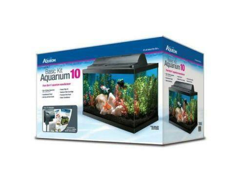 Aquarium fish tank 10 gallon ebay for Fish for a 10 gallon tank