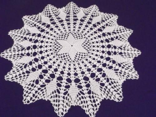 Crochet tablecloth ebay - Set de table crochet ...