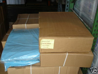 1 Case 10 Reams Premium Blue Tissue Paper 4800 Sheets Packing Stuffing