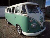 VW SPLITSCREEN 1964 RHD, bare metal restoration