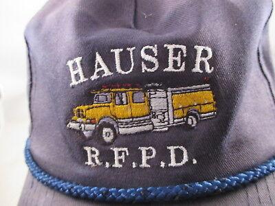 HAUSER OREGON FIRE DEPARTMENT HAT