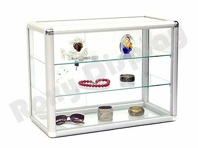 Glass Countertop Display Case Store Fixture Showcase With Front Lock Sc-kdtop