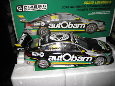 CLASSIC 1.18 V8 SUPERCARS 2018 HOLDEN ZB COMMODORE AUTOBARN CRAIG LOWNDES 888 for sale  Shipping to Canada