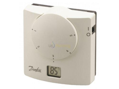 danfoss room thermostat ebay. Black Bedroom Furniture Sets. Home Design Ideas