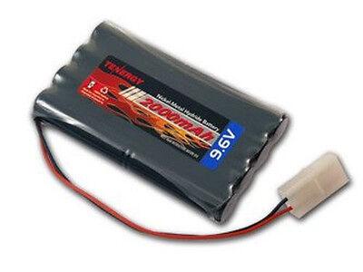 Tenergy 9.6V 2000mAh High Capacity NiMH Battery Pack for RC