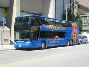 I am selling megabus tickets for 50 % of its Value.