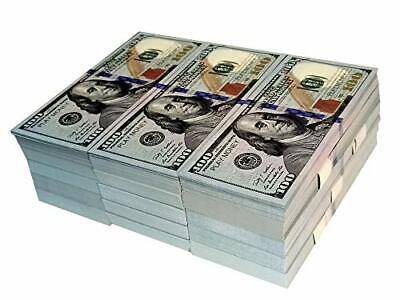 Movie Prop Full Print 2 Sided Realistic Stacks, That Looks Real for Movie,