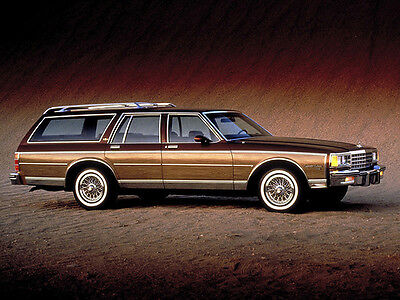 1987 Chevrolet Caprice Estate Wagon, Refrigerator Magnet, 40 MIL  Chevrolet Caprice Estate Wagon